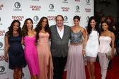Judy Reyes, Ana Ortiz, Dania Ramirez, Marc Cherry, Roselyn Sanchez, Edy Ganem, Eva Longoria — Stock Photo