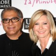 Dr. Deepak Chopra, Olivia Newton-John — Stock Photo