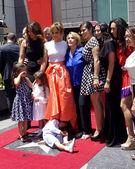 Jennifer Lopez, Lupe Lopez, Max Anthony, others — Stock Photo
