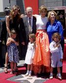 David Lopez, Emmy Anthony, Jennifer Lopez, Lupe Lopez, Max Anthony — Stock Photo