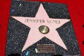 珍妮佛洛佩兹明星 — 图库照片