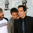 Jack Black, Robert Downey Jr, and Ben Stiller — Stock Photo