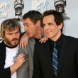 Jack Black, Robert Downey Jr, Ben Stiller — Stock Photo