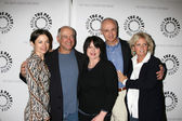 Justine Bateman, Gary David Goldberg, Tina Yothers, Michael Gross, and Meredith Baxter — Stock Photo