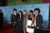 Zac Efron, Vanessa Hudgens, Ashley Tisdale, Monique Coleman, and Corbin Bleu — Stock Photo
