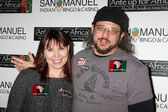 Annie Duke & Joe Reitman — Stock Photo