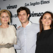 Jennifer Morrison, Adam Brody, Mia Maestro — Stock Photo