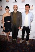 Rooney Mara, David Lowery, Casey Affleck — Stock Photo