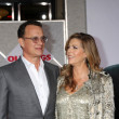 Tom Hanks & Rita Wilson — Stock Photo