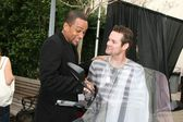 Hill Harper & Shane West — Stock Photo