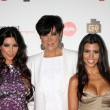 Kim Kardashian, Kris Jenner, & Kourtney Kardashian — Stock Photo #27788553