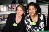 Elizabeth Kaitan & Diane Almedia — Stock Photo