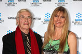 Martin Landau, Gretchen Becker — Stock Photo