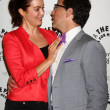 Bellamy Young, Dan Bucatinsky — Stock Photo