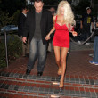 Doug Hutchison, Courtney Stodden — Stock Photo
