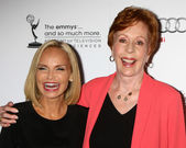Kirstin Chenoweth, Carol Burnett — Stock Photo
