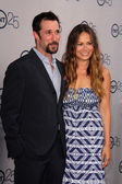 Noah Wyle, Moon Bloodgood — Stock Photo