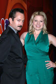 Thomas Lennon, Megan Hilty — Stock Photo