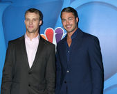 Jesse Spencer, Taylor Kinney — Stock Photo