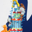 Smurfs 2 cake  — Stock Photo
