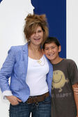 Amy Pascal, son — Stock Photo