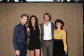 Barrett Foa, Daniela Ruah, Eric Christian Olsen, Renee Felice Smith — Stock Photo