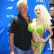 Courtney Stodden, her father Alex Stodden — Stock Photo