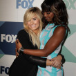 Stock Photo: Demi Lovato, Kelly Rowland