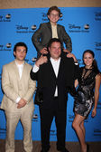 Troy Gentile, Sean Giambrone, Jeff Garlin, Hayley Orrantia — Stock Photo