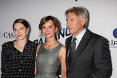 Georgia Ford, Calista Flockhart, Harrison Ford — Stock Photo