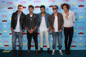 Liam Payne, Louis Tomlinson, Zayn Malik, Niall Horan, Harry Styles of One Direction — Foto de Stock