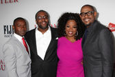 David Oyelowo, Lee Daniels, Oprah Winfrey, Forest Whitaker — Stock Photo