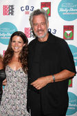 Melissa Claire Egan, John de Lancie — Stock Photo