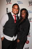 Jimmy Uso, Naomi — Stock Photo