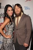 Brie Bella, Daniel Bryan — Stock Photo