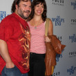 Jack Black, Tanya Haden — Stock Photo