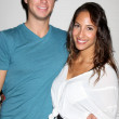 Ray Wicks, Christel Khalil — Foto de Stock