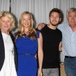 Alley Mills, Jennifer Gareis, Scott Clifton, John McCook — Stock Photo