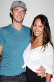 Ray stoppini, christel khalil — Foto Stock