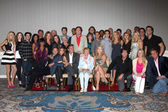 Young and the Restless Cast, Jill Farren Phelps, Lee Bell, Angelica McDaniel — Stock Photo