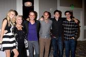 Melissa Ordway, Beth Maitland, Christian LeBlanc, Bryton James, Robert Adamson, Max Ehrich — Stock Photo