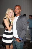 Melissa Ordway, Redaric Williams — Stock Photo