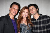Christian LeBlanc, Tracey Bregman, Max Ehrich — Stock Photo