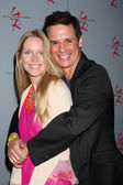 Lauralee Bell, Christian LeBlanc — Stock Photo