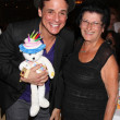 Christian LeBlanc and fan — Stock Photo