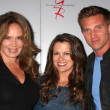 Stock Photo: Catherine Bach, MelissClaire Egan, Steve Burton