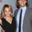 Hunter King, Hartley Sawyer — Stock Photo