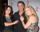 Angelica McDaniel, Eric Braeden, Melody Thomas Scott — Stock Photo