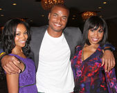 Mishael Morgan, Redaric Williams, Angell Conwell — Stock Photo