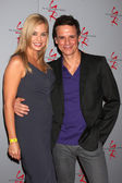 Jessica Collins, Christian LeBlanc — Stock Photo